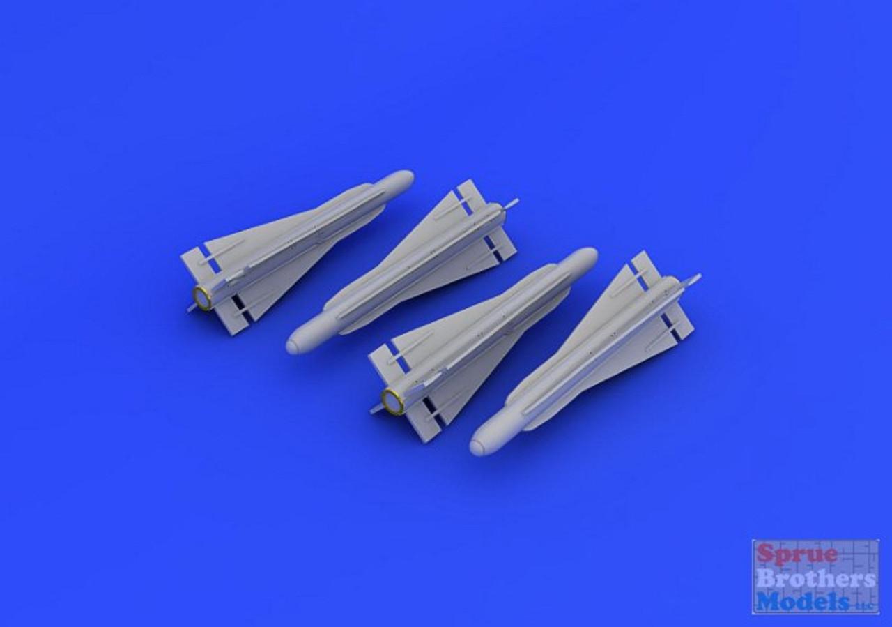EDU648187 1:48 Eduard Brassin AIM-4G Falcon Missile Set