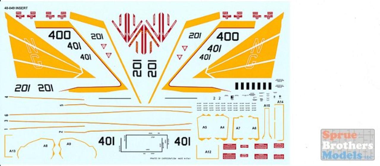 FUR48049 1:48 Furball Aero Design F-18E F-18F Super Hornet Air Wing All-Stars Part 3