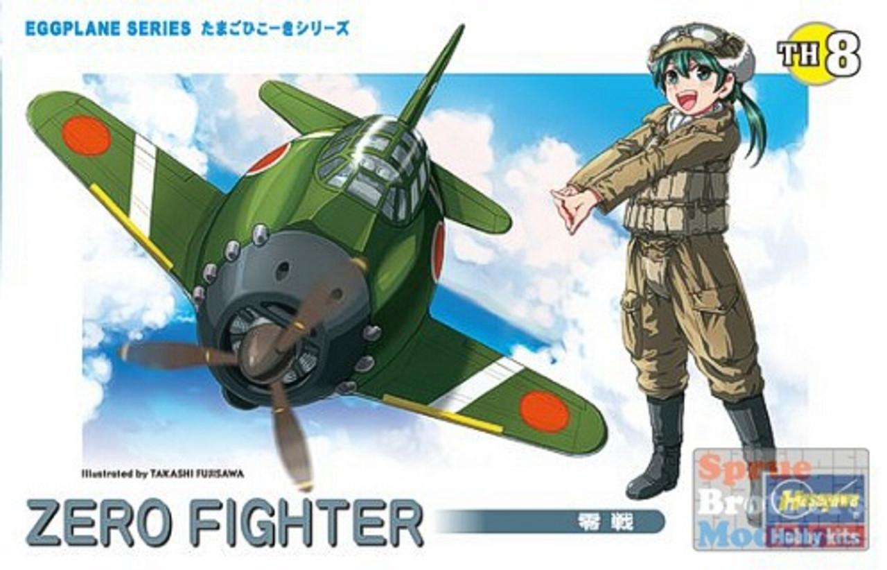 HAS60118 Hasegawa A6M Zero Fighter Egg Plane