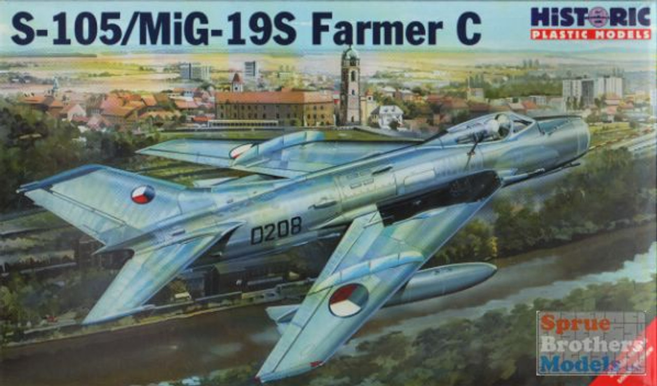 HIS48008 1:48 Historic Plastic Models S-105 / MiG-19S Farmer C