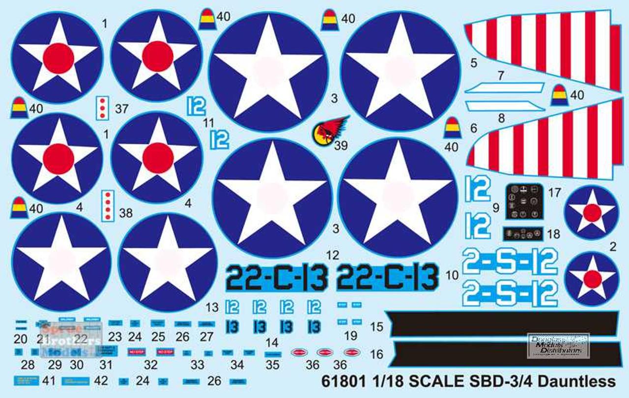 ILK61801 1:18 I Love Kit SBD-3 SBD-4 Dauntless