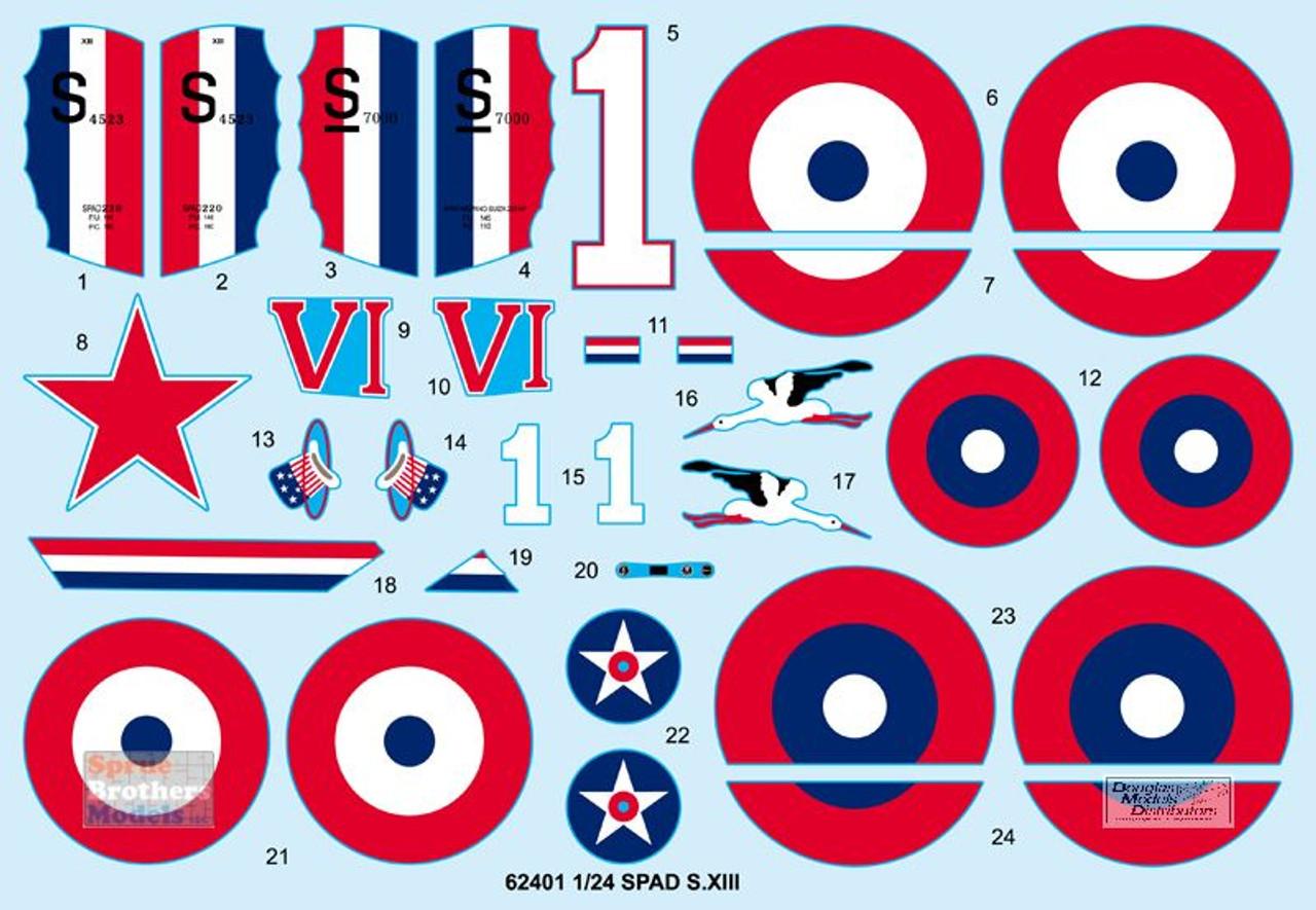 ILK62401 1:24 I Love Kit Spad S.XIII