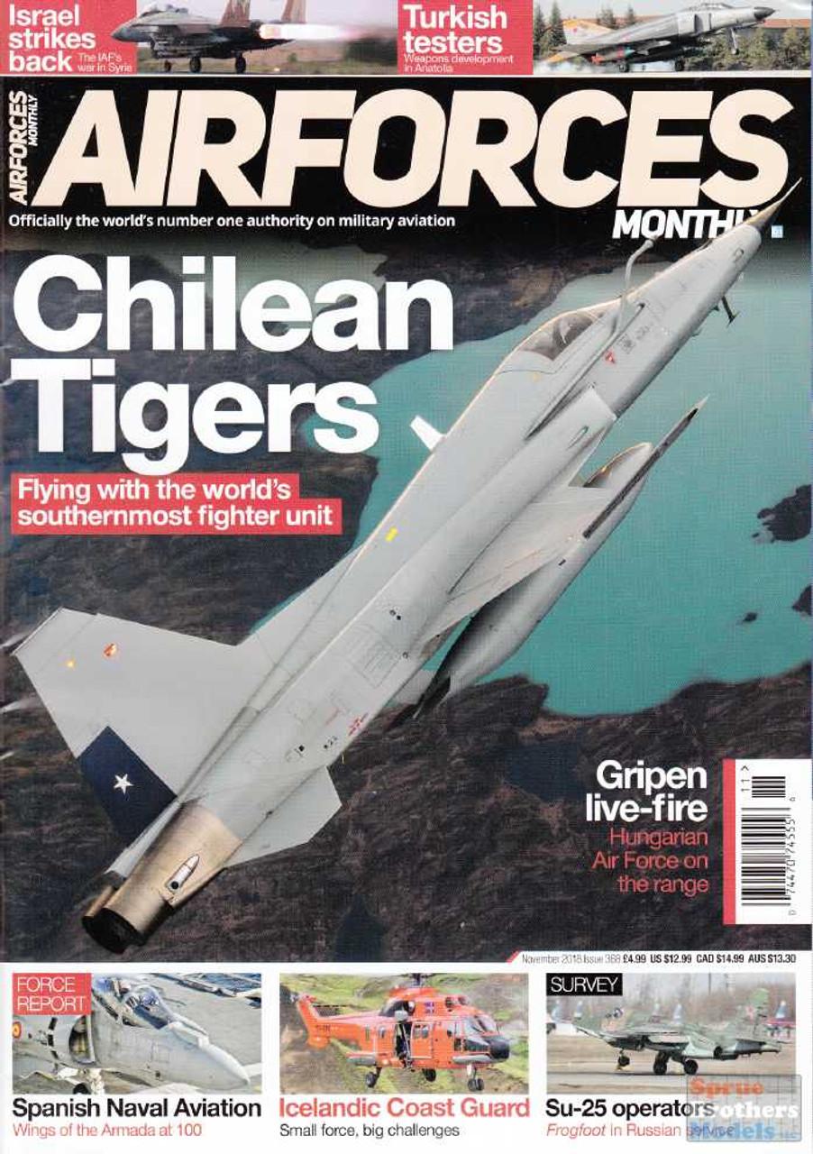 KEYAFM18-11 Air Forces Monthly Magazine November 2018