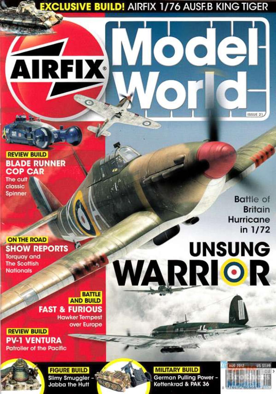 KEYAMW0812 Airfix Model World Magazine August 2012