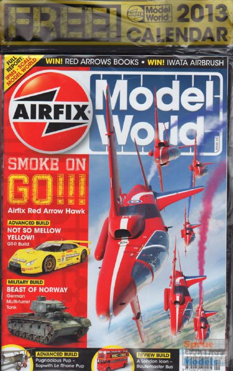 KEYAMW13-01 Airfix Model World Magazine January 2013