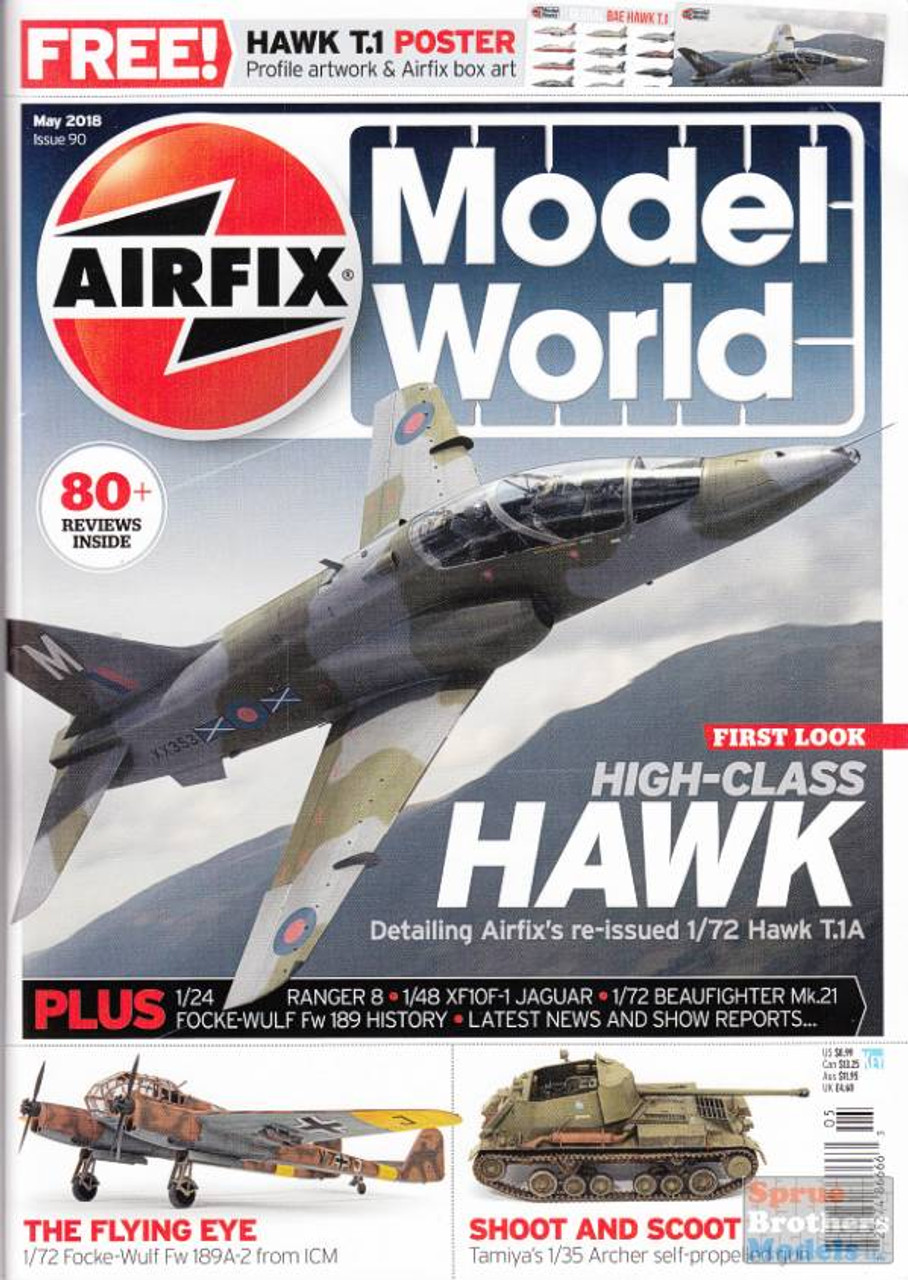 KEYAMW18-05 Airfix Model World Magazine May 2018