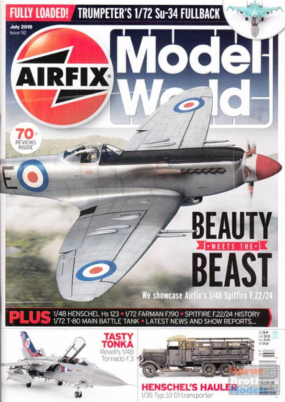 KEYAMW18-07 Airfix Model World Magazine July 2018