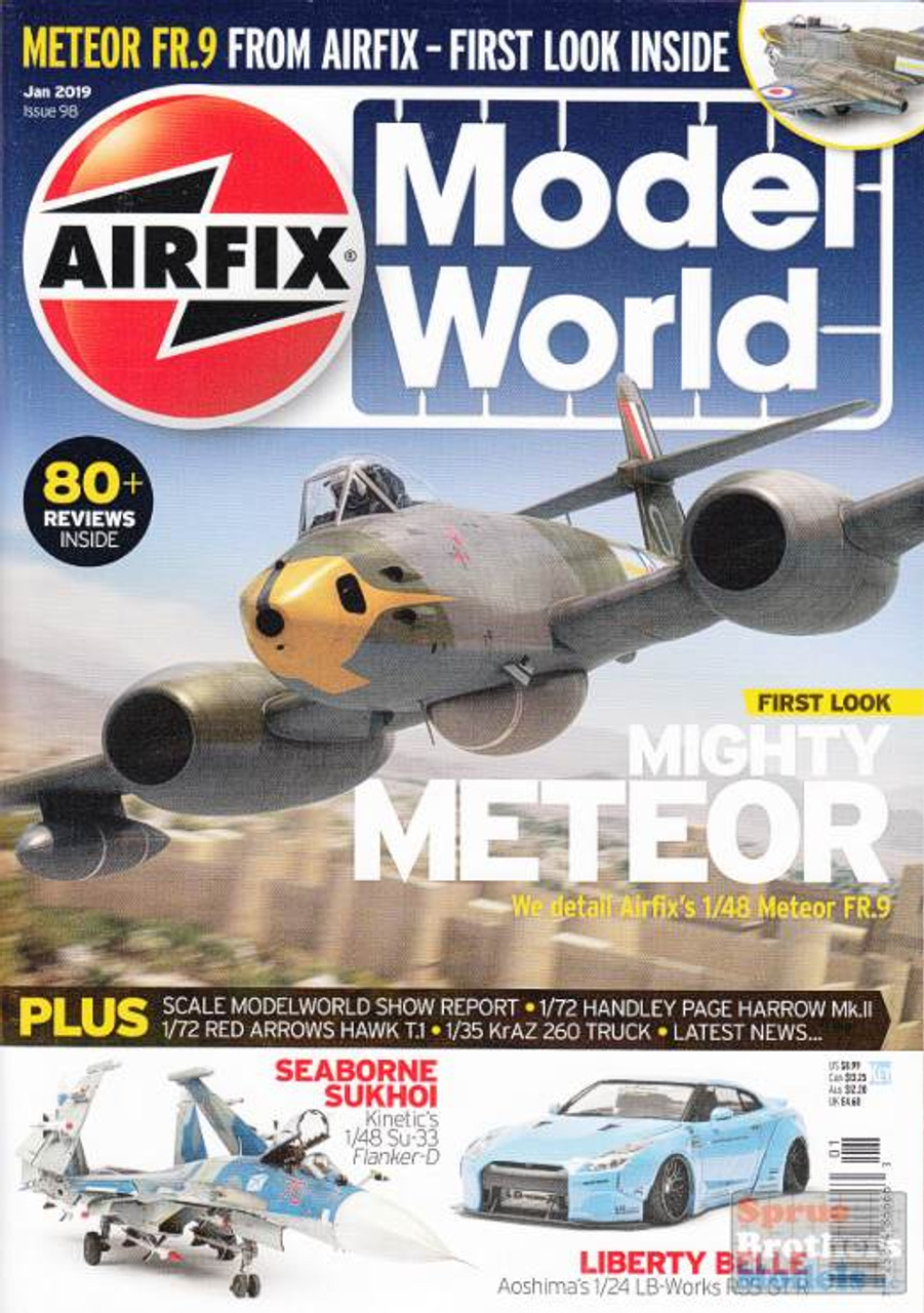 KEYAMW19-01 Airfix Model World Magazine January 2019