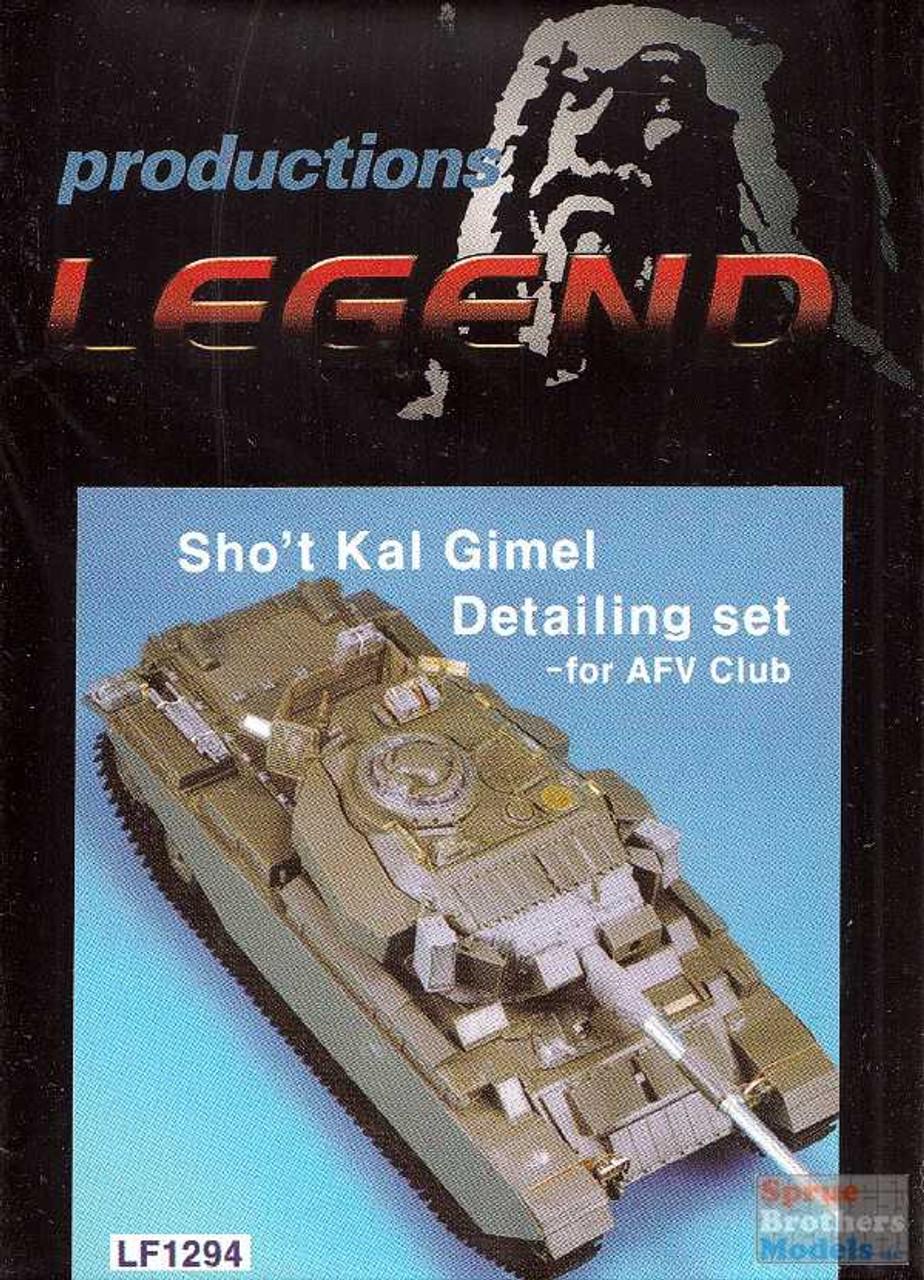 LEG1294 1:35 Legend Sho't Kal Gimel Detailing Set (AFV kit)