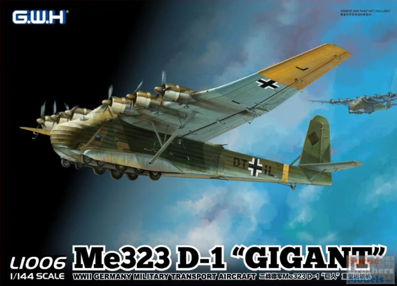 LNRL1006 1:144 Great Wall Hobby Me323D-1 'Gigant'