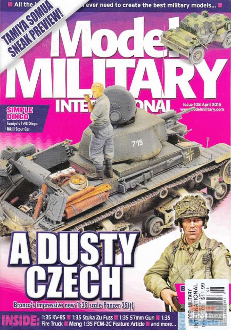 MMI108 Model Military International Magazine Issue #108 April 2015