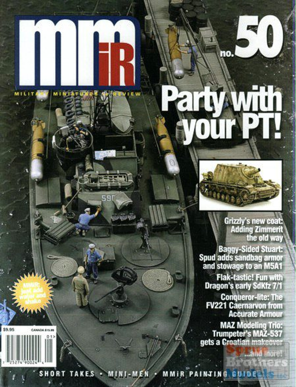 MMN050 Military Miniatures In Review Issue #50