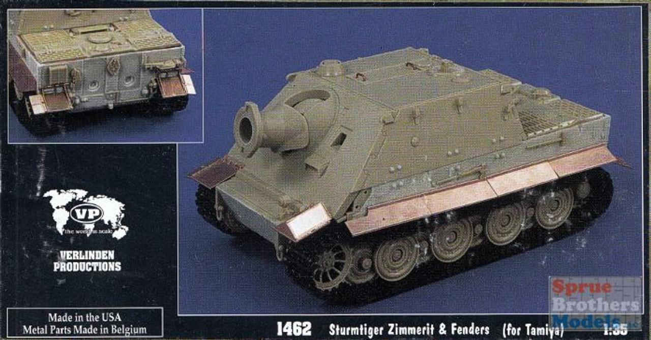 VER1462 1:35 Verlinden Sturmtiger Zimmerit & Fenders (TAM kit)