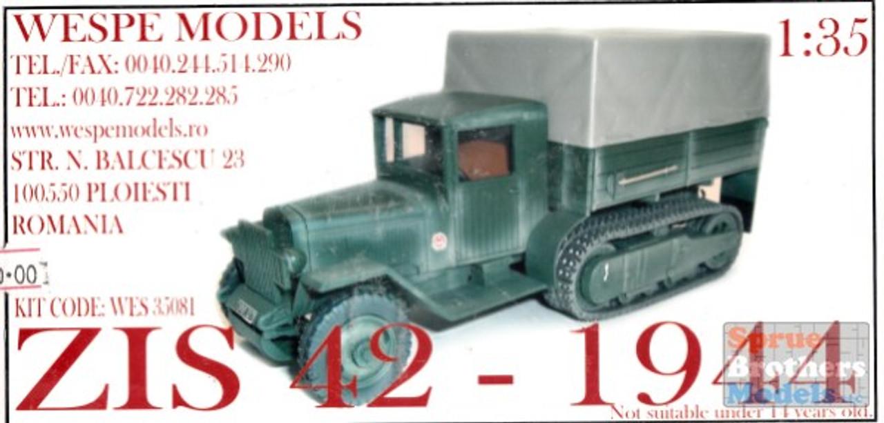 WES35081 1:35 Wespe ZIS  42 1944