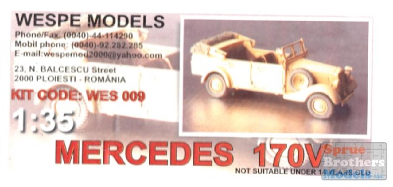 WES35009 1:35 Wespe Mercedes 170V