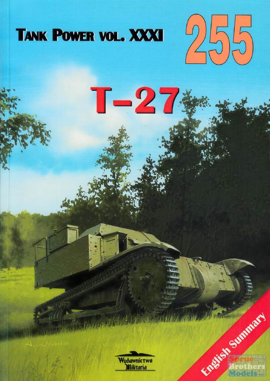 WMB0255 Wydawnictwo Miliaria - T-27 (Tank Power Vol.XXXI)