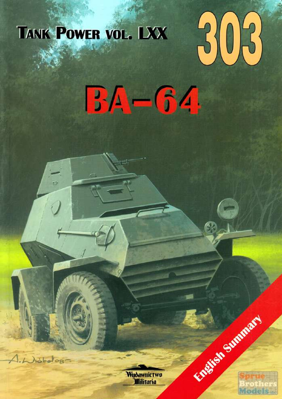 WMB0303 Wydawnictwo Miliaria - BA-64 (Tank Power Vol.LXX)