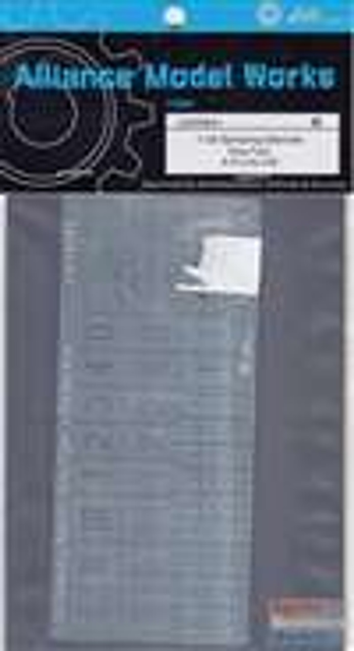 AMWLW35041 1:35 Alliance Modelworks Paint Template for King Tiger SPzAbt 505 #LW35041