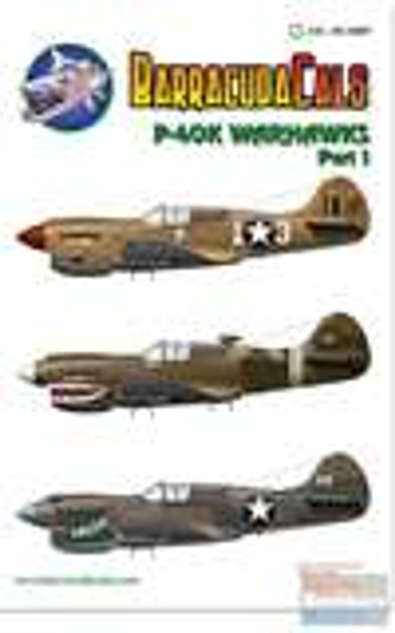 BARBC32007 1:32 BarracudaCals P-40K Warhawk Part 1 #BC32007