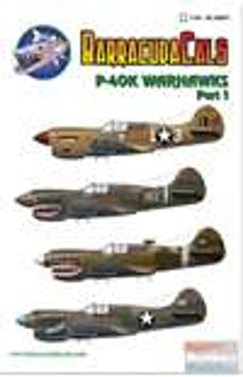 BARBC48007 1:48 BarracudaCals P-40K Warhawk Part 1 #BC48007