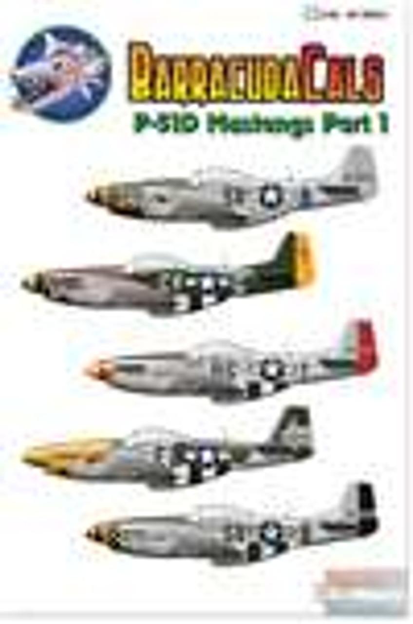 BARBC48011 1:48 BarracudaCals P-51D Mustangs Part 1 #BC48011
