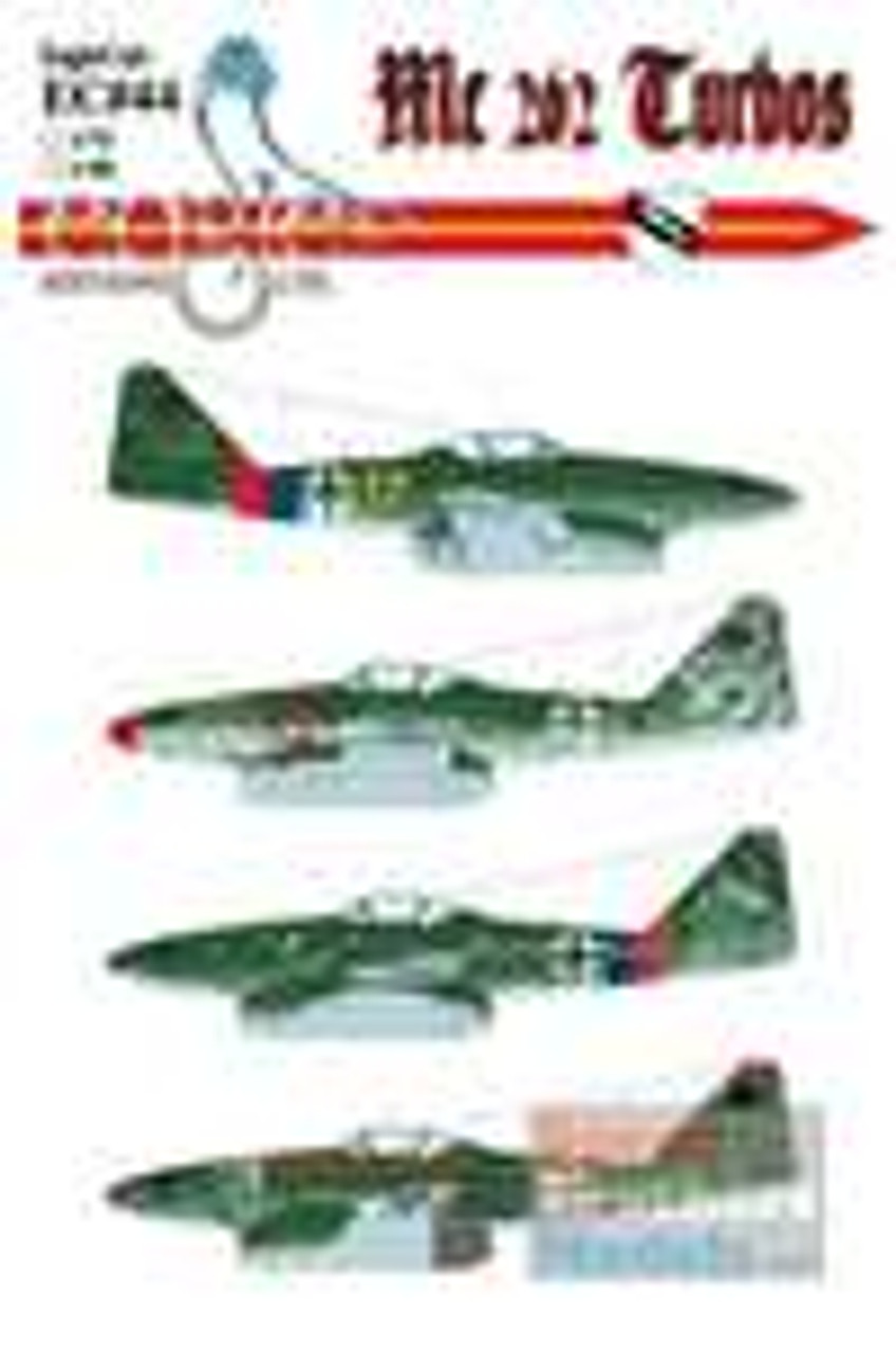 ECL48044 1:48 Eagle Editions Me262 Turbos #48044