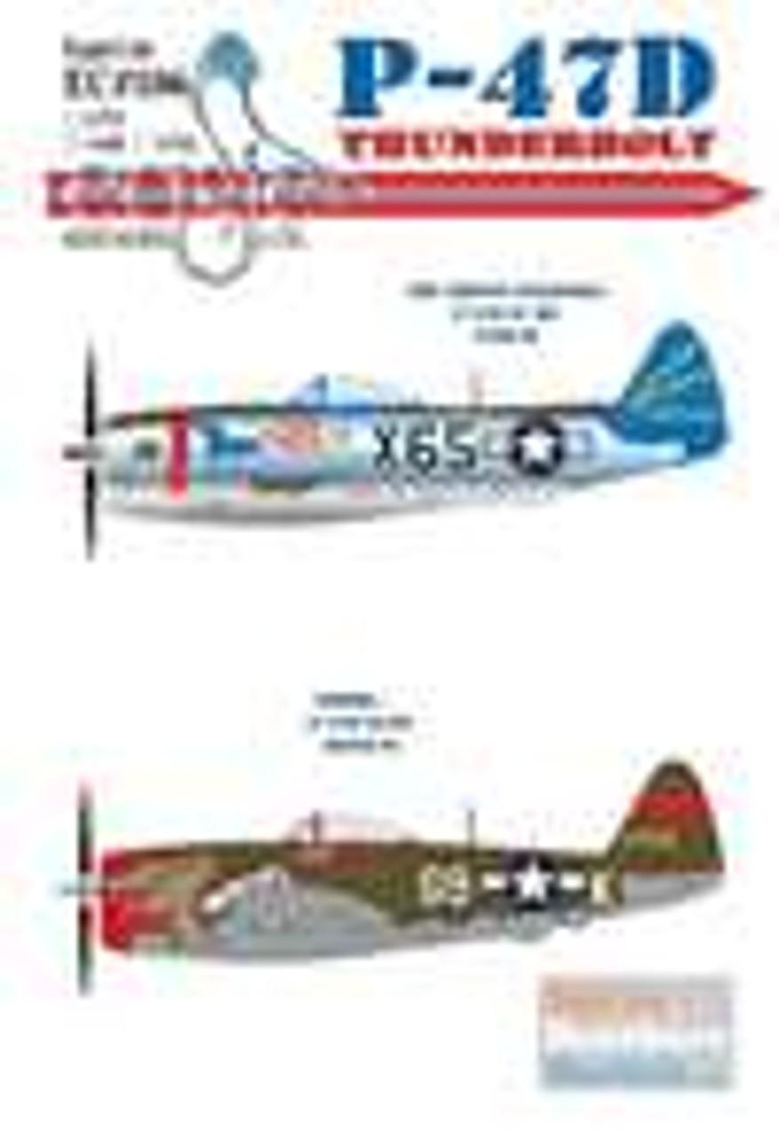 ECL48106 1:48 Eagle Editions P-47D Thunderbolt Bubbletop #48106