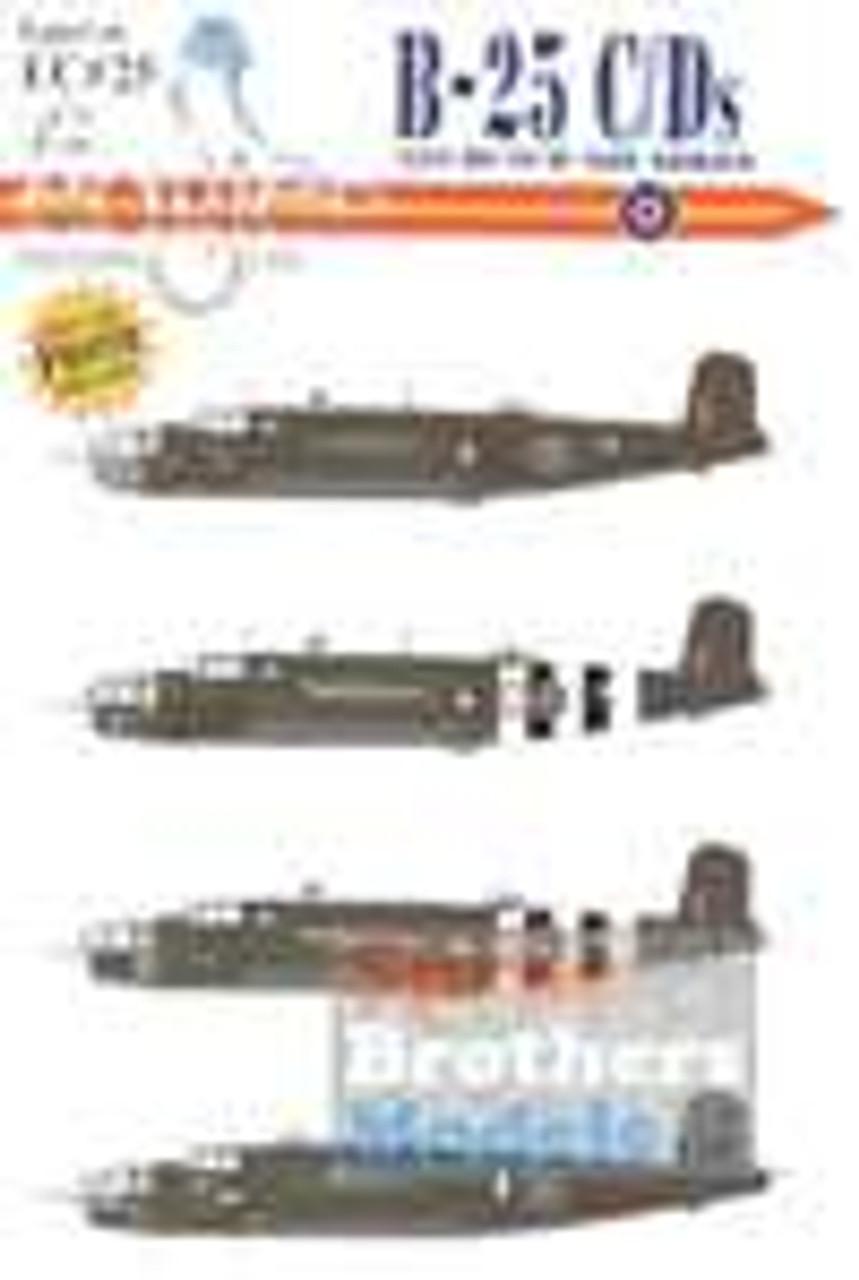 ECL72025 1:72 Eagle Editions B-25C B-25D Mitchell 320 Dutch Squadron #72025