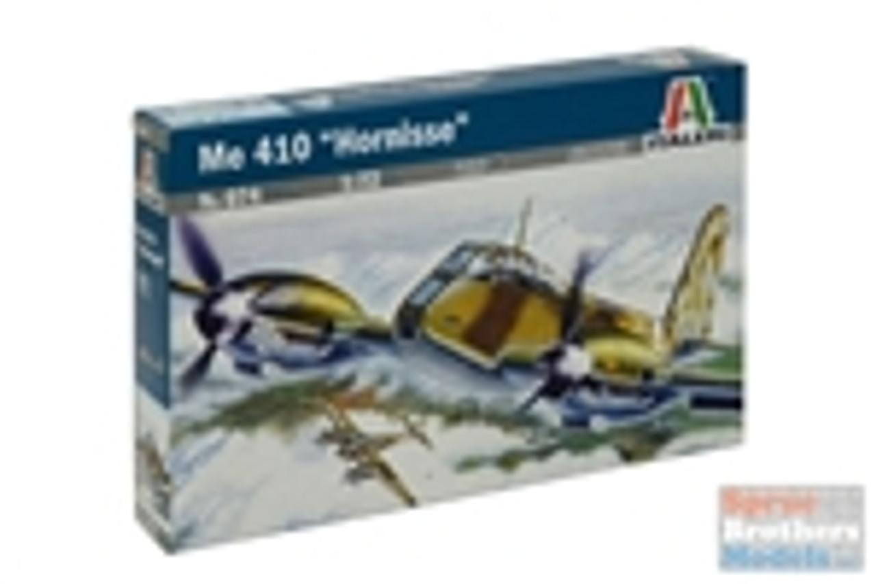 ITA0074 1:72 Italeri Me 410 Hornisse