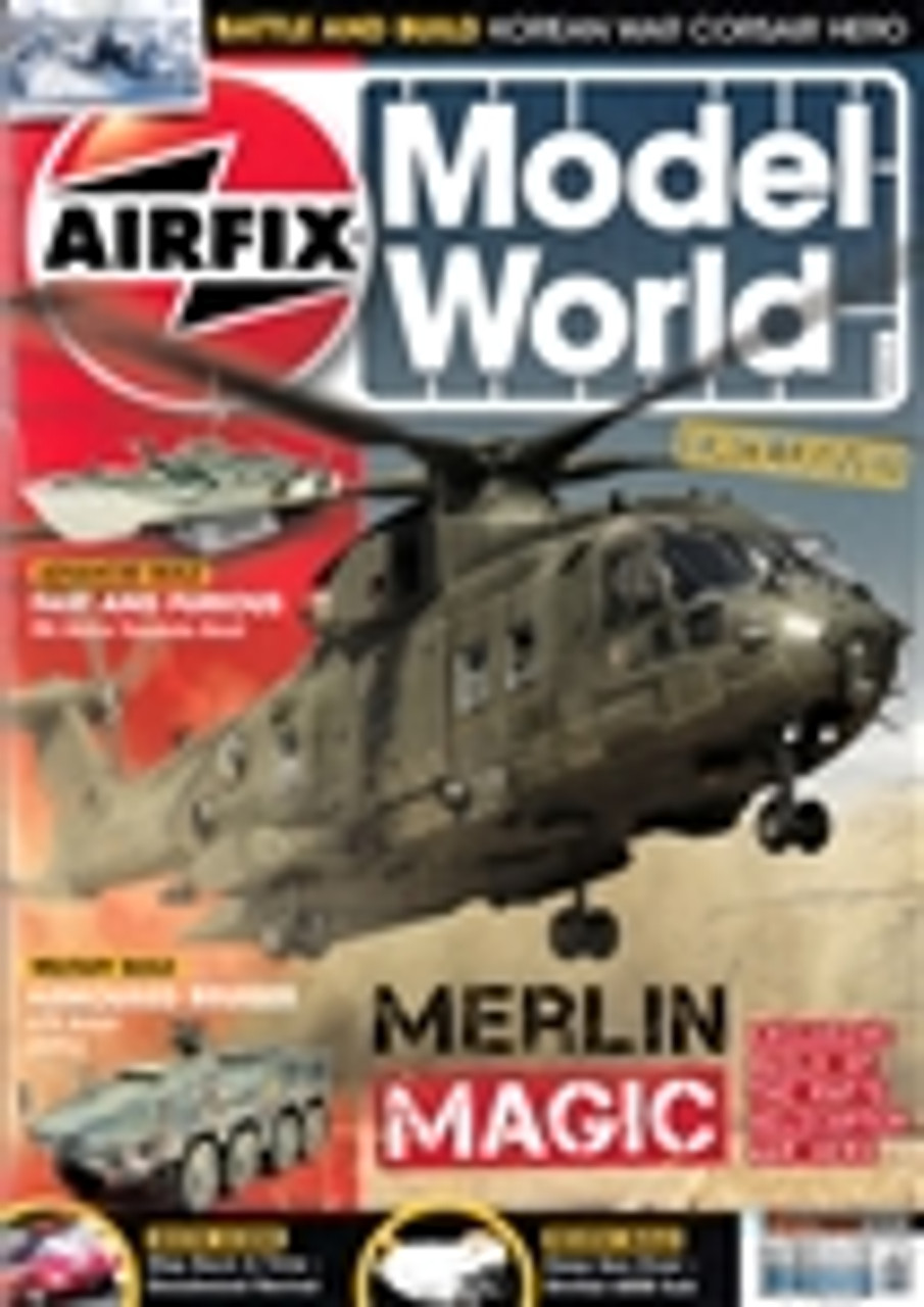 KEYAMW13-02 Airfix Model World Magazine February 2013