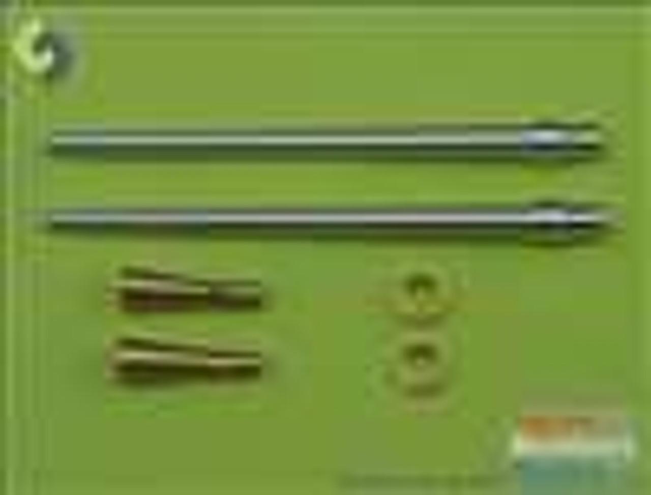 MASAM32014 1:32 Master Model German aircraft cannon 3.7cm Flak 18 gun barrels (2pcs) #AM32014