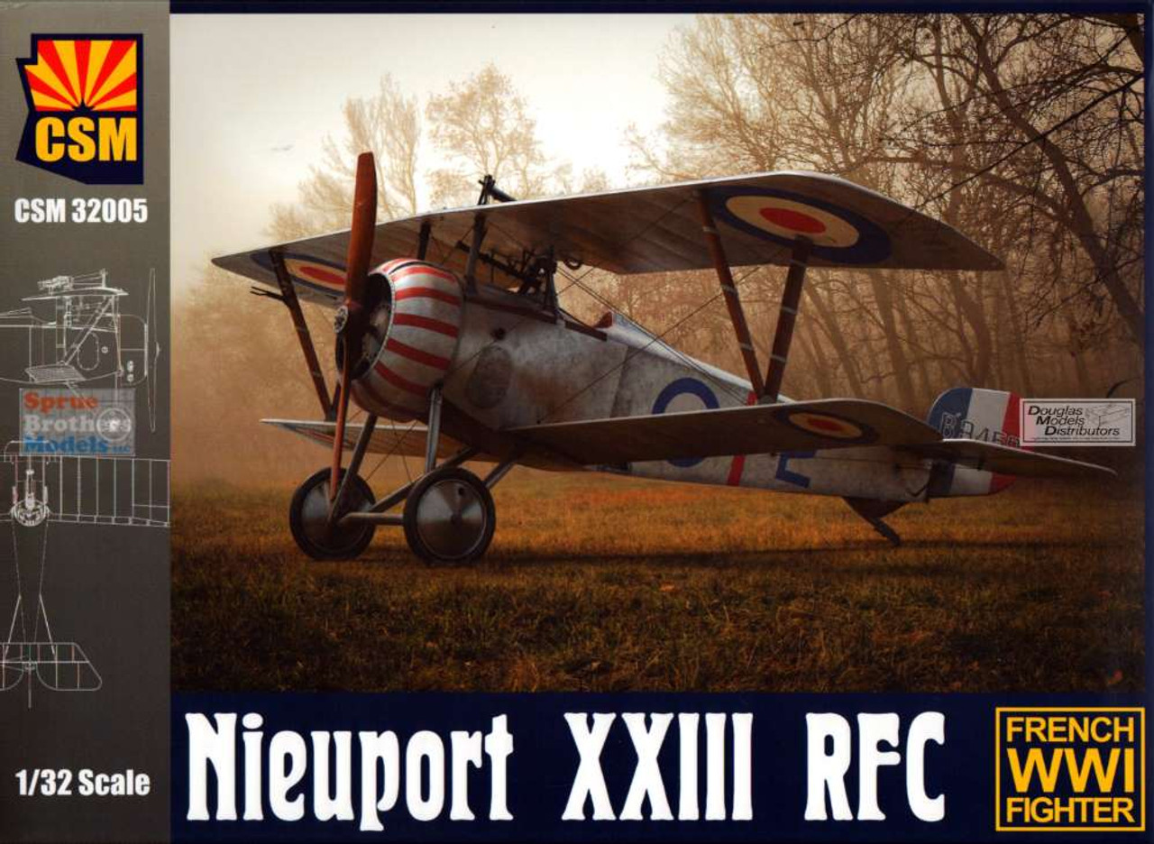 CSM32005 1:32 Copper State Models Nieuport XXIII RFC
