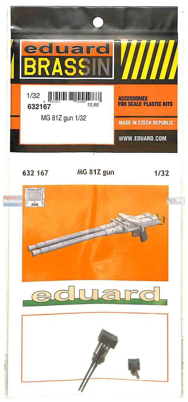 EDU632167 1:32 Eduard Brassin MG 81Z Gun Set