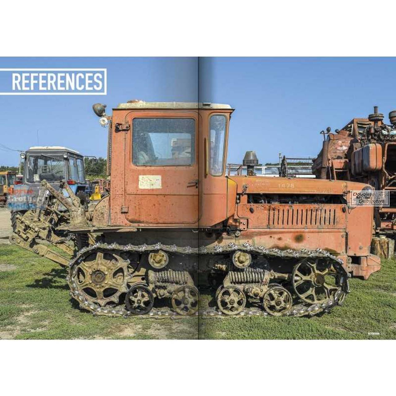 PLESP008 PLA Editions - Tractors: Modelling Eastern European Civil Vehicles