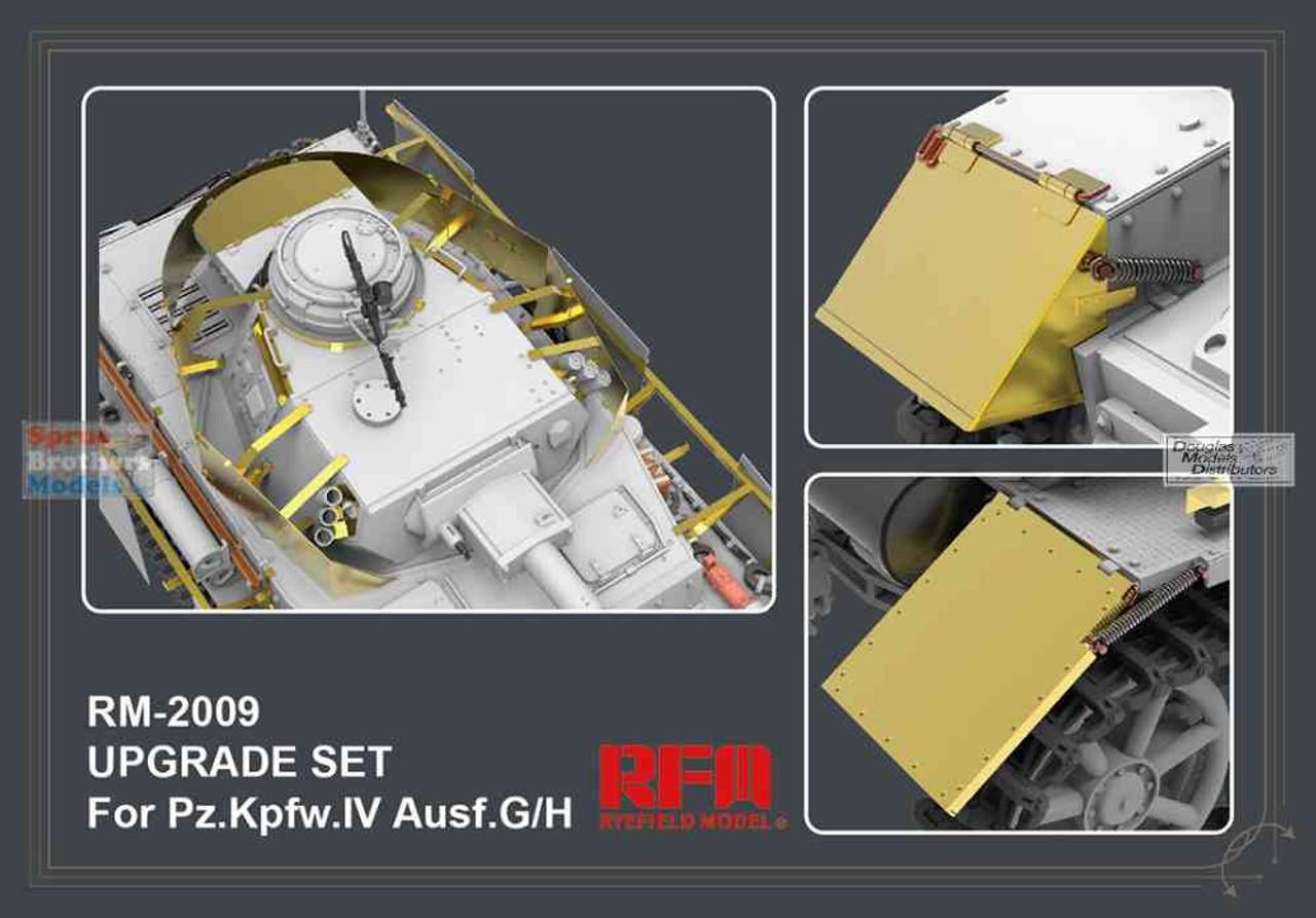 RFMRM2009 1:35 Rye Field Model Panzer Pz.Kpfw.IV Ausf.G/H Upgrade Set (RFM kit)