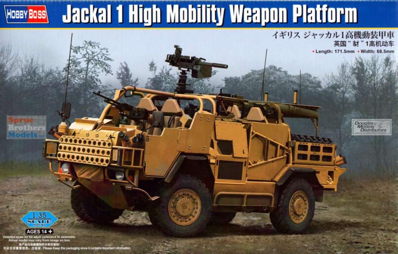 HBS84520 1:35 Hobby Boss Jackal 1 High Mobility Weapon Platform
