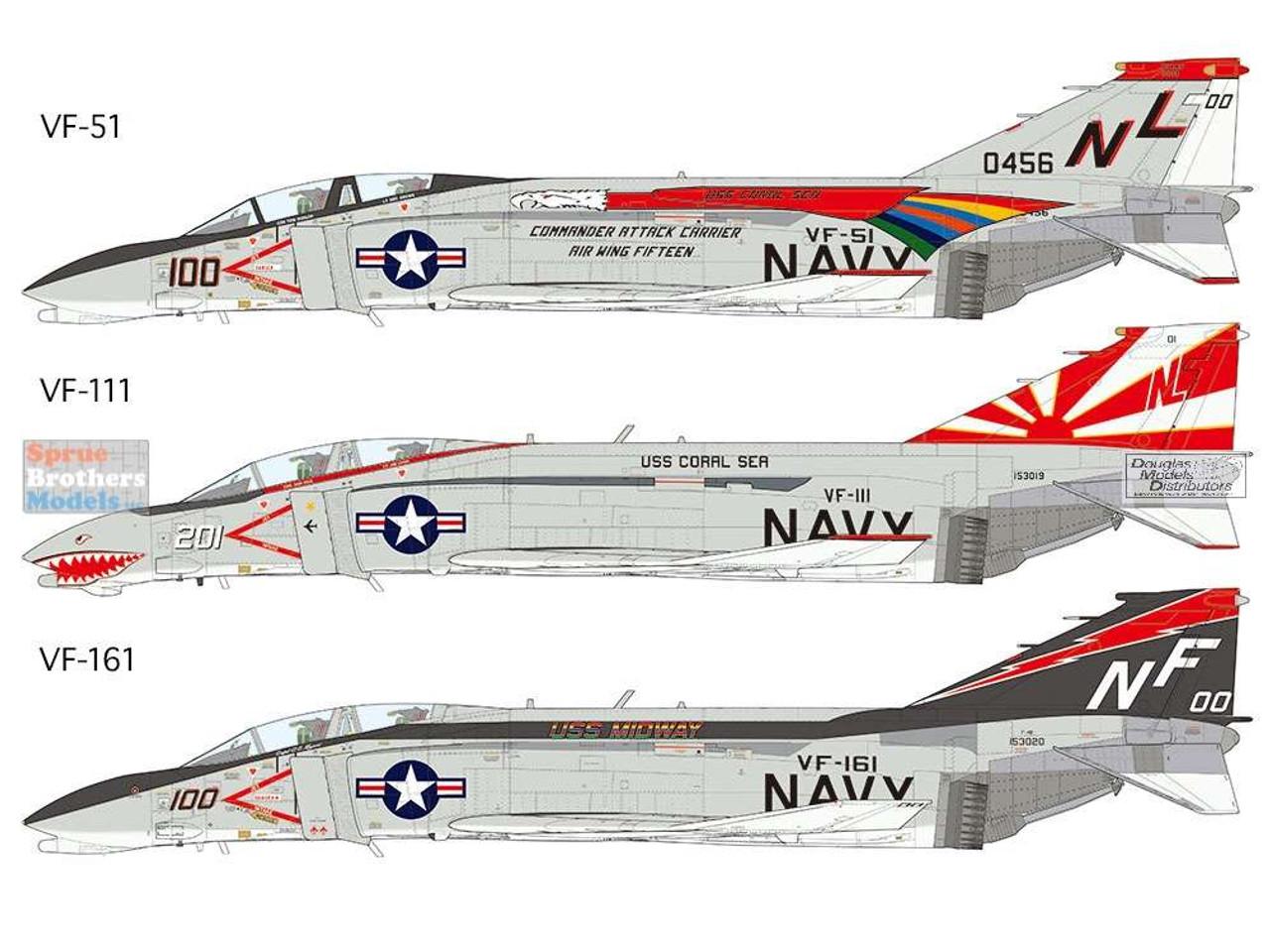 TAM61121 1:48 Tamiya F-4B Phantom II