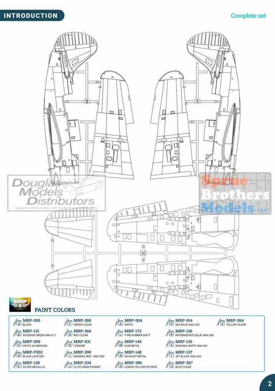 IFM3201 1:32 Infinity Models SB2C-4 Helldiver