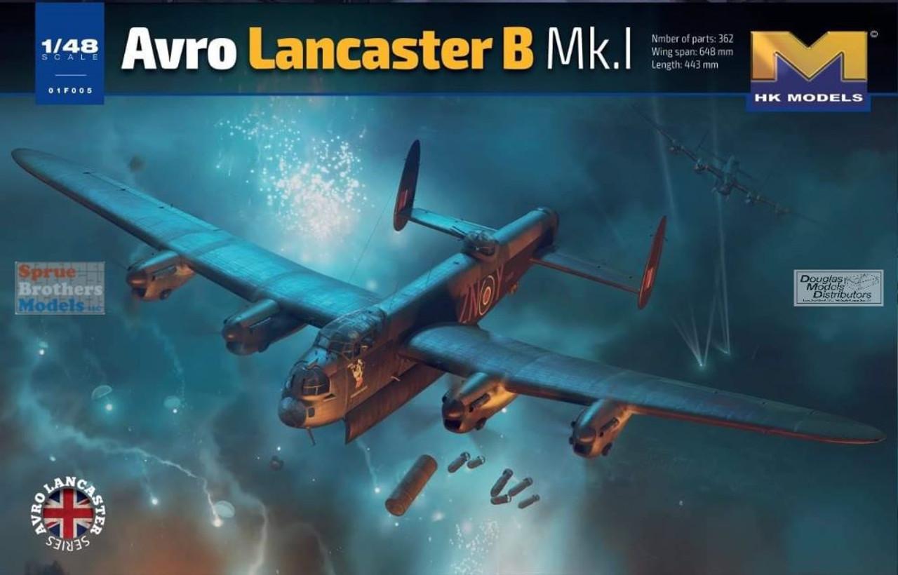 HKM01F005 1:48 HK Models Avro Lancaster B Mk.I