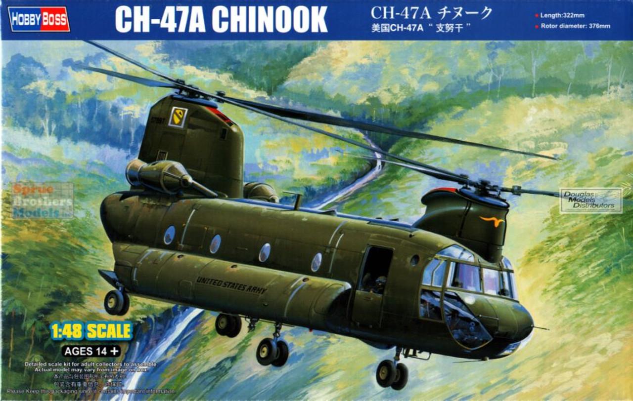 HBS81772 1:48 Hobby Boss CH-47A Chinook