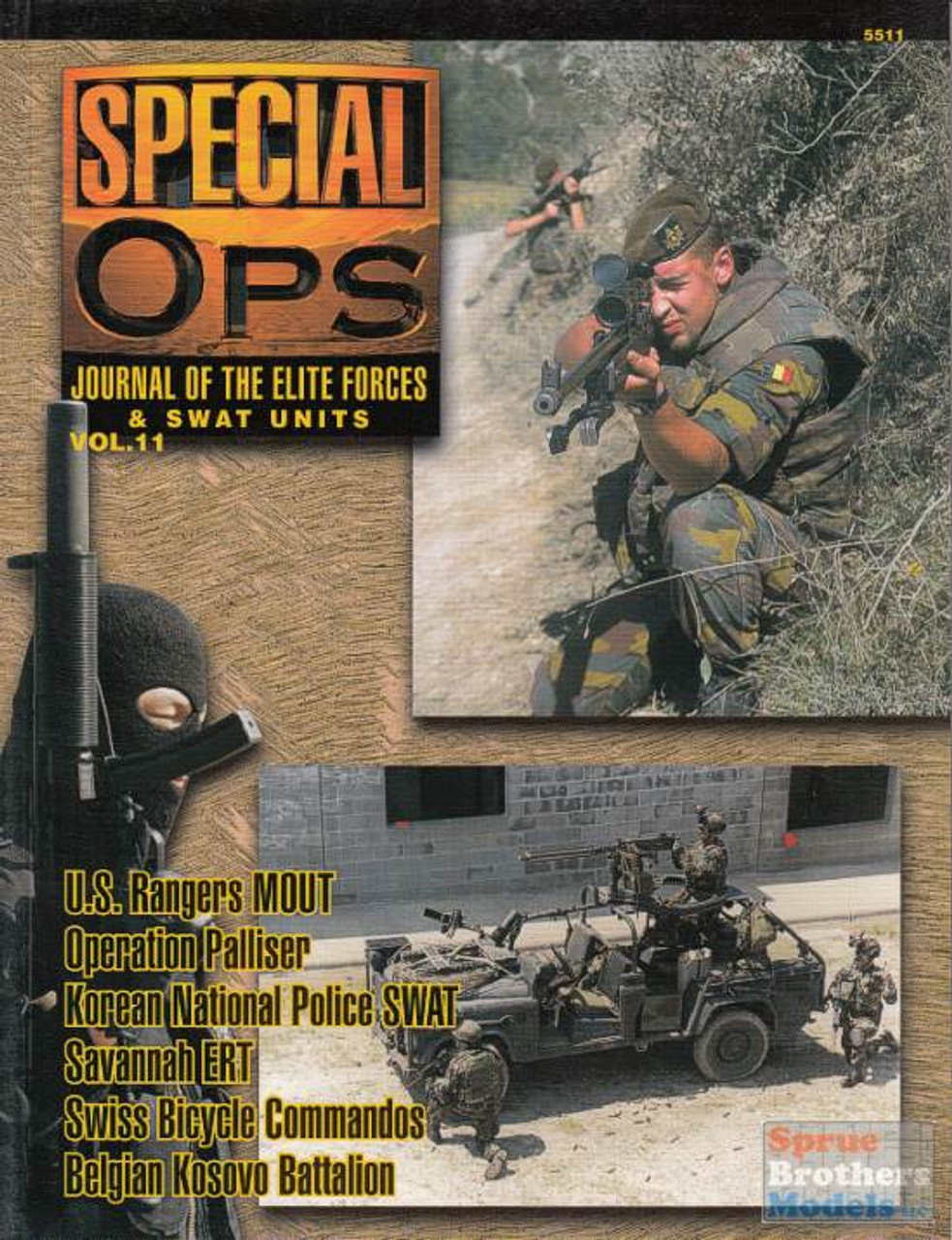 CCD5511 Concord Publications - Special Ops Volume #11