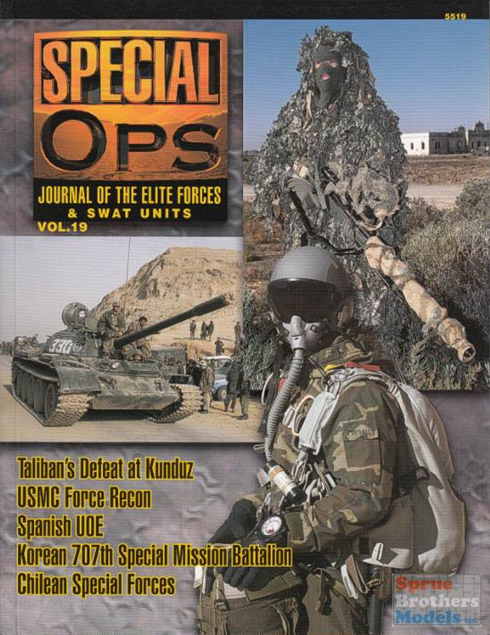 CCD5519 Concord Publications - Special Ops Volume #19