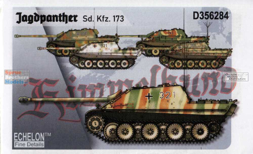 Echelon Fine Details Decals for 1//35 Jagdpanther SdKfz 173