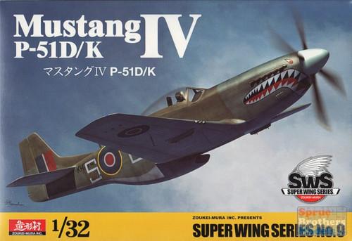 Zoukei Mura SWS04-D03-1//32 North American P-51D Mustang Marking Set 3