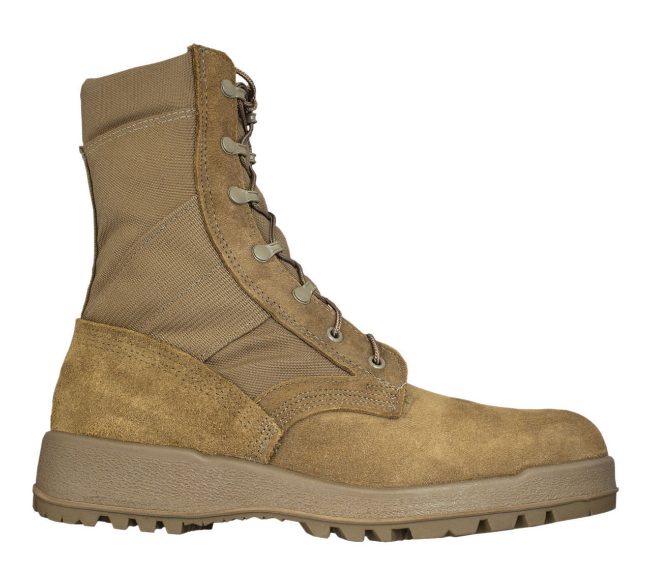 a09c5c657d5 McRae USGI Army Hot Weather Boots Vents MADE IN USA Breathable Boots NEW