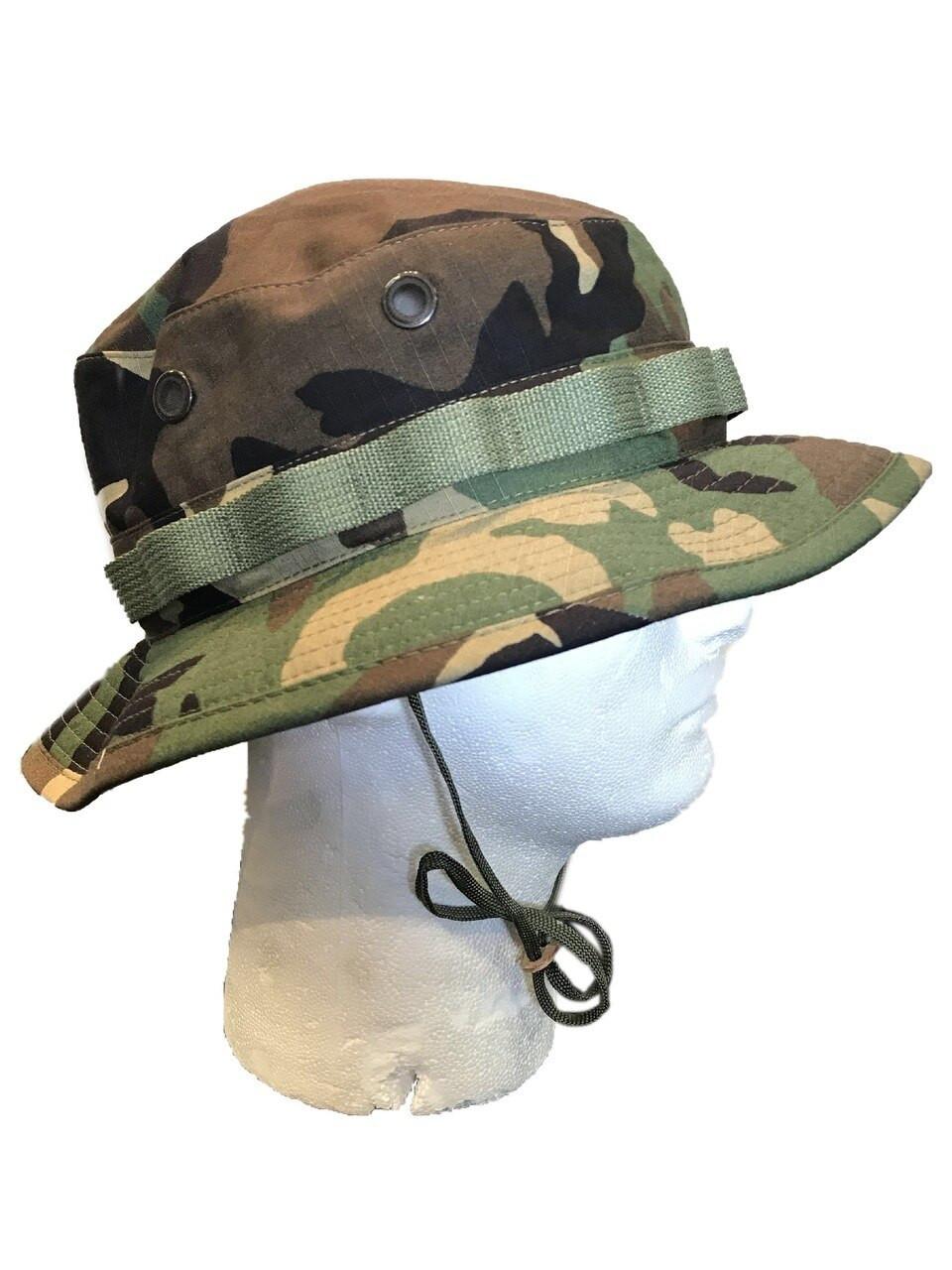 Military Boonie Hat Tactical Combat U.S WOODLAND