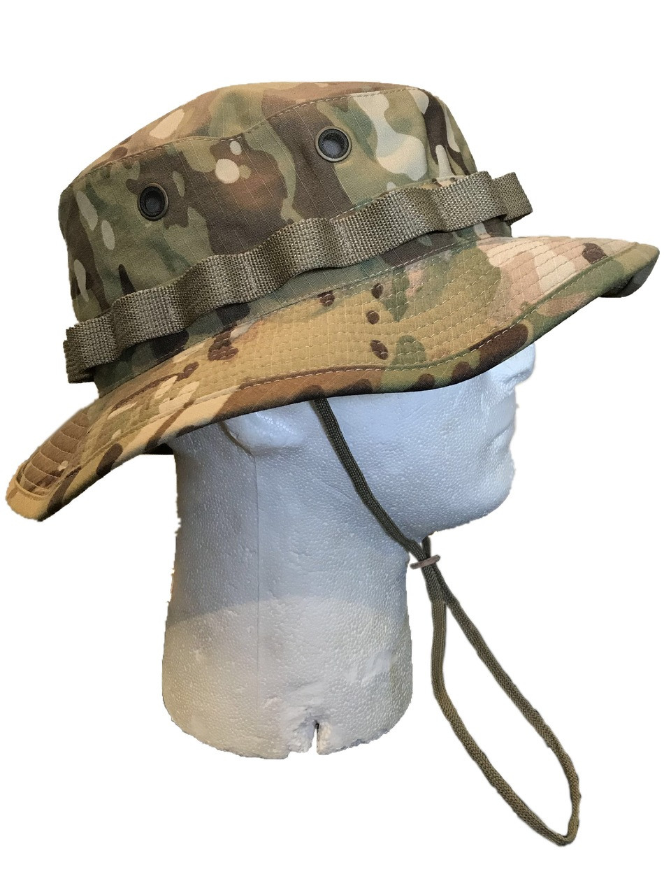0e563a8491ce8 ... Genuine Army Issue Boonie Bush Hat OCP Scorpion Multicam 50 50 Nylon  Cotton US MADE
