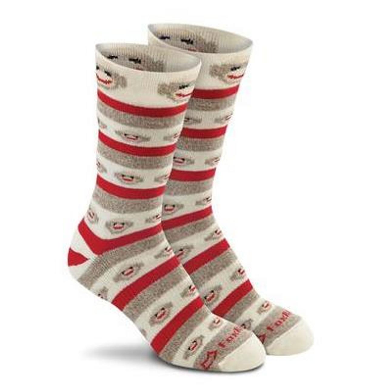 038a54a6747d4 Fox River MERINO STRIPES Rockford Red Heel Monkey Socks - SGT TROYS