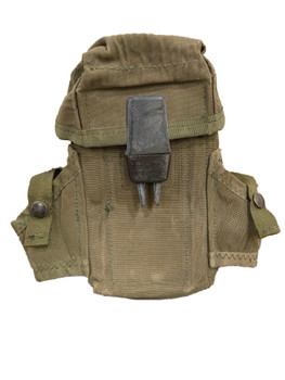 Military ALICE Ammo Mag Pouch with Grenade Holders Vintage OD Green
