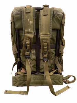 Military Issue ALICE Pack Medium Complete OD Green used